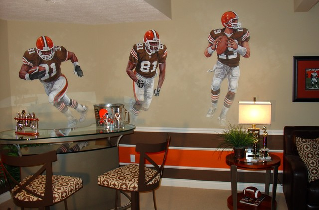 Browns Eclectic Basement Cleveland By Joe Helms