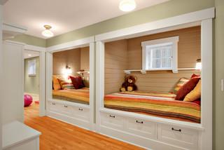 built ins traditional basement seattle by j a s design build