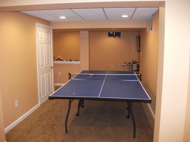 burlington basement traditional basement other metro by livin