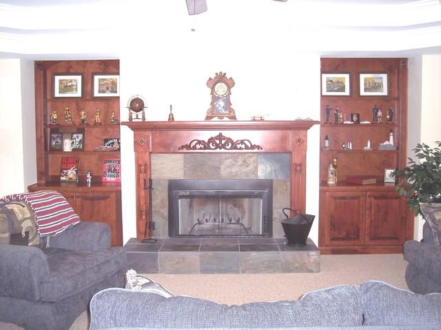 Canton traditional-basement
