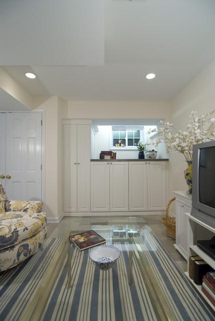 Case Design/Remodeling, Inc. traditional-basement
