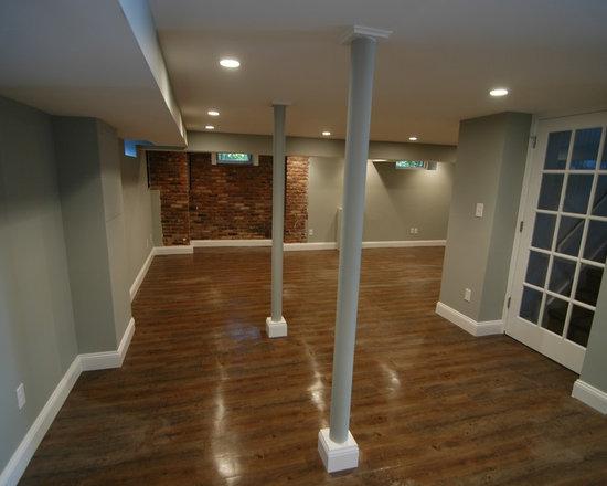 Recessed Lighting In Basement : Recessed lighting basement design ideas pictures remodel