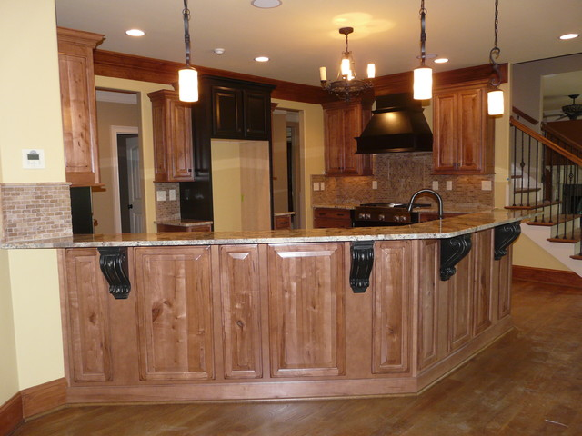 Character Maple kitchen - Traditional - Basement - Birmingham - by ...