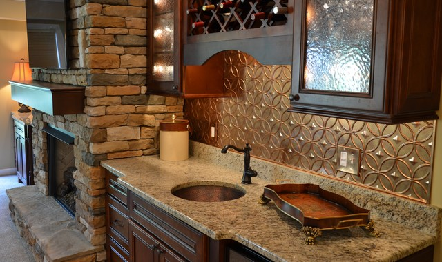 Charles Basement - Traditional - Basement - atlanta - by Great Spaces!
