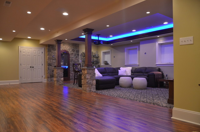 Finish Basement Ideas Fair Basement Finishing At Cherry Creek Farm West Chester Pa Inspiration