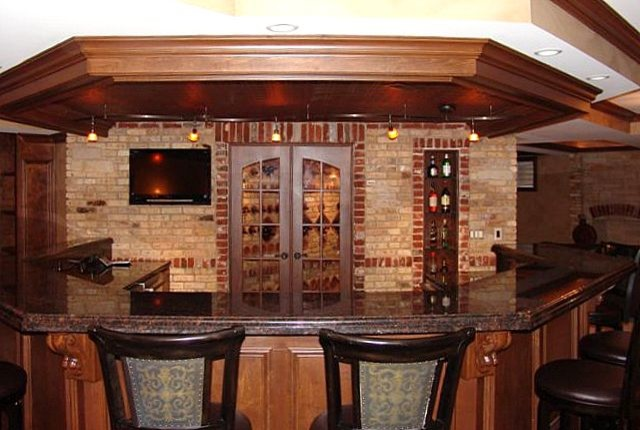 Chicago Brick Veneer - Traditional - Basement - chicago - by Colonial Brick
