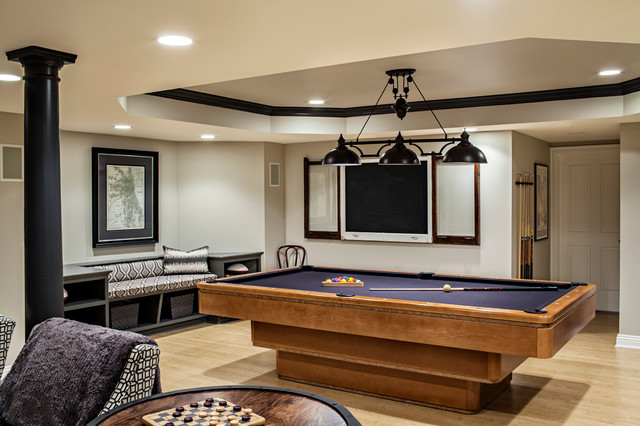 chicago chic basement