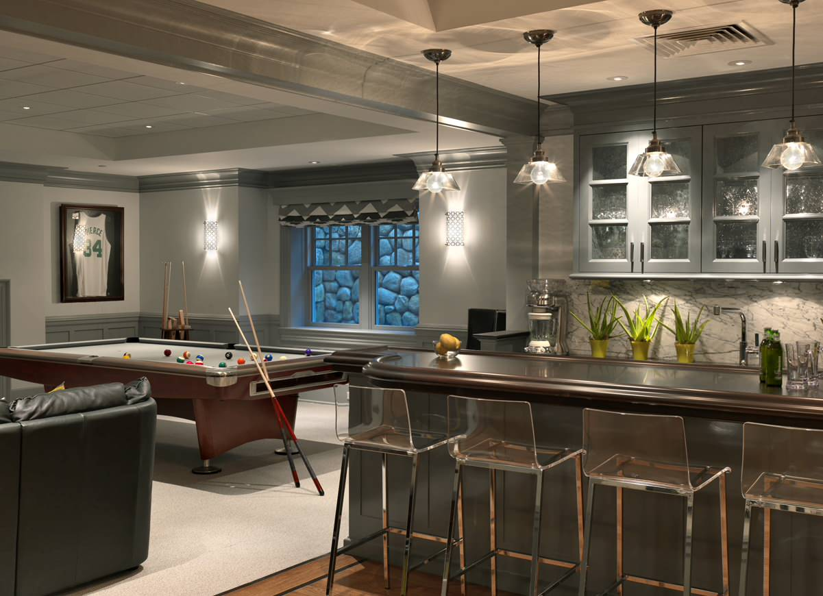 75 Beautiful Basement Bar Pictures Ideas Houzz