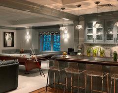 Classical Shingle traditional-basement