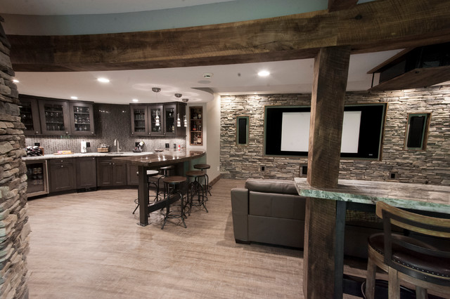Clean Rustic Lower Level Indian Hill