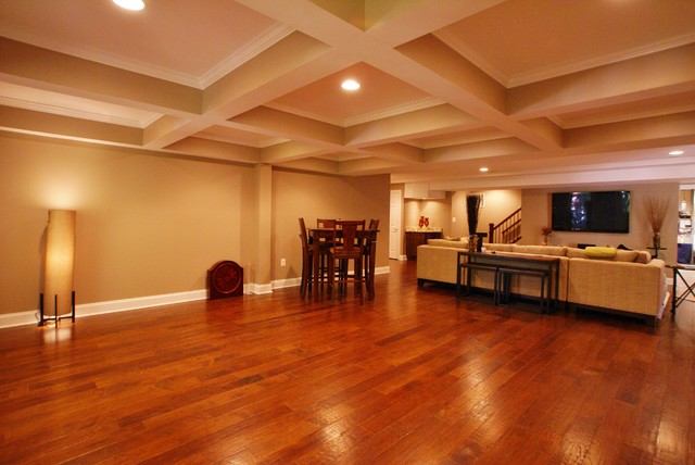 clifton va basement finish traditional basement dc metro by