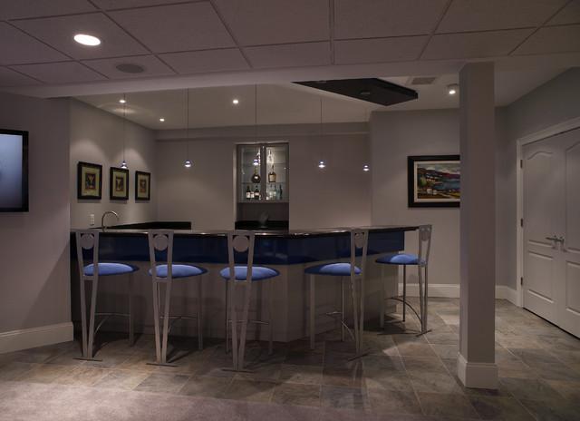 Contemporary Basement contemporary-basement