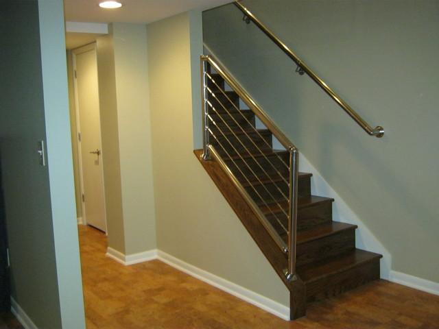 contemporary basement contemporary basement