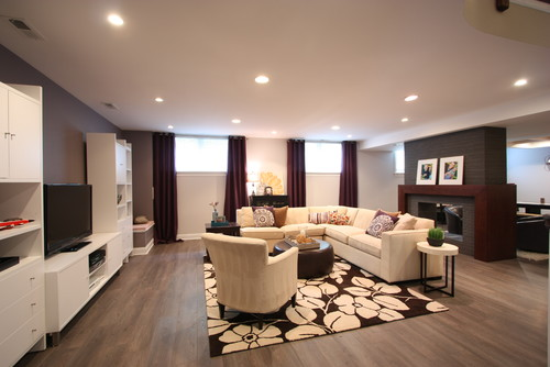 Basement Designers 6 basement remodeling design trends for 2014 - meeder design