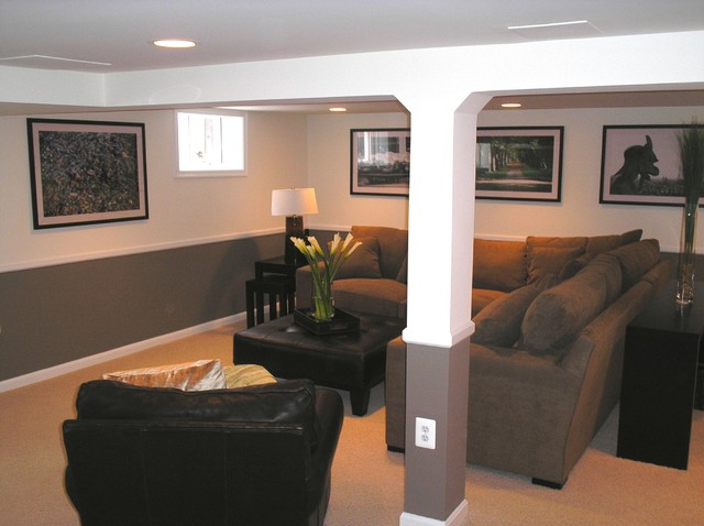 Cook Bros Of Arlington Va Basement Family Rooms Traditional Basement