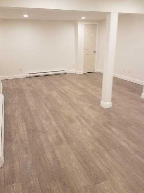 Coretec Wide Plank Vinyl Flooring Over, Vinyl Plank Flooring Basement Concrete