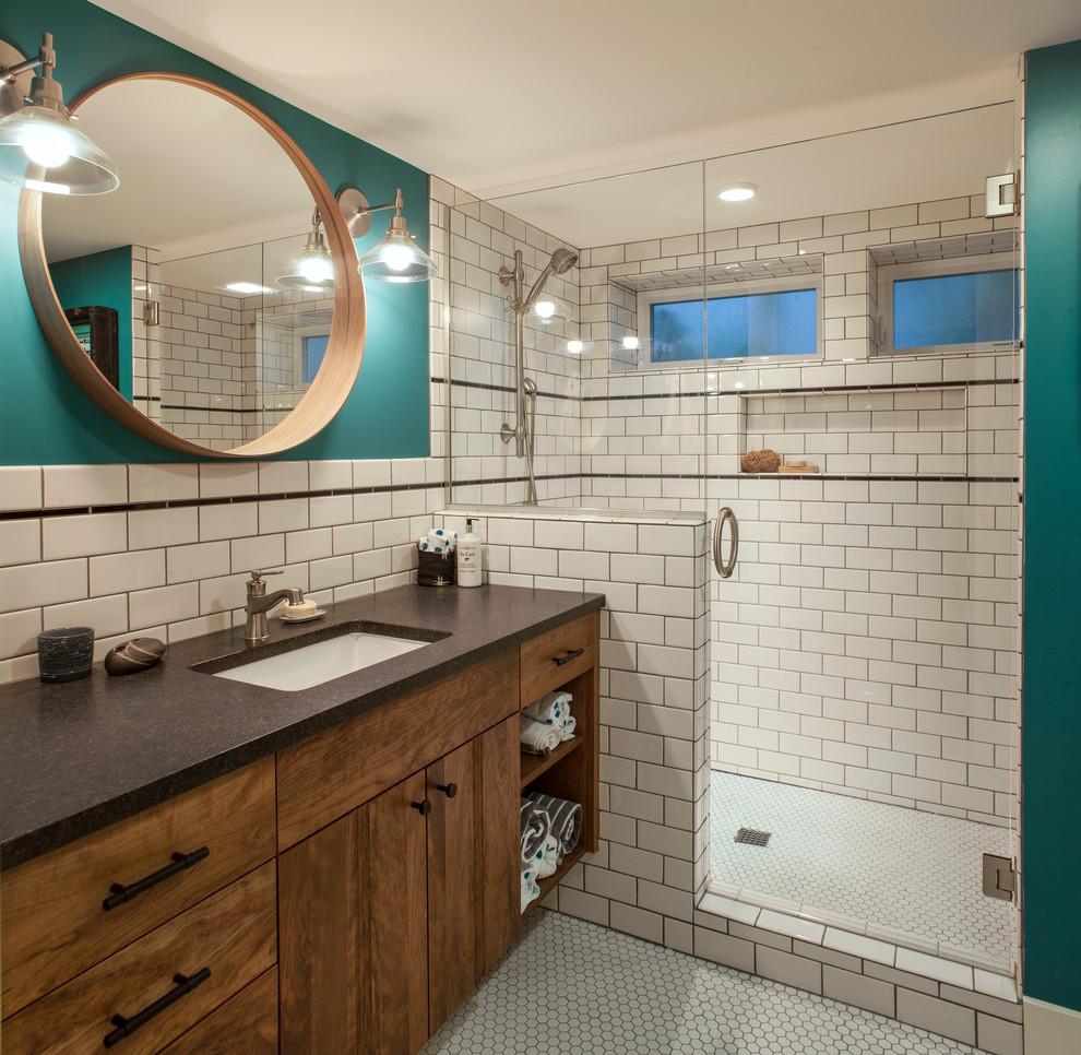 Home Design Basement Ideas: Cozy Laurelhurst Basement Remodel Portland, OR
