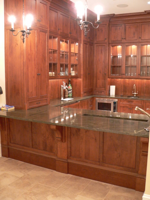 Custom Bar Designs Traditional Basement Other By J