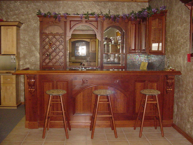 Custom Bars - Traditional - Basement - st louis - by Kunz Carpentry