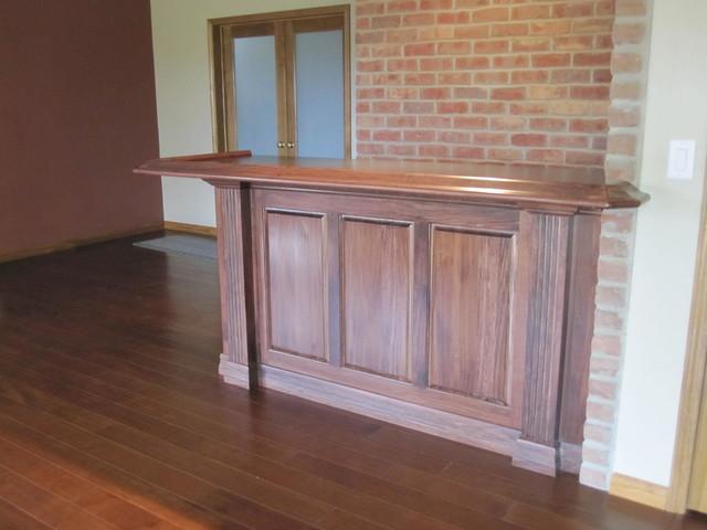Custom Bars - Traditional - Basement - St Louis - by Kunz Carpentry