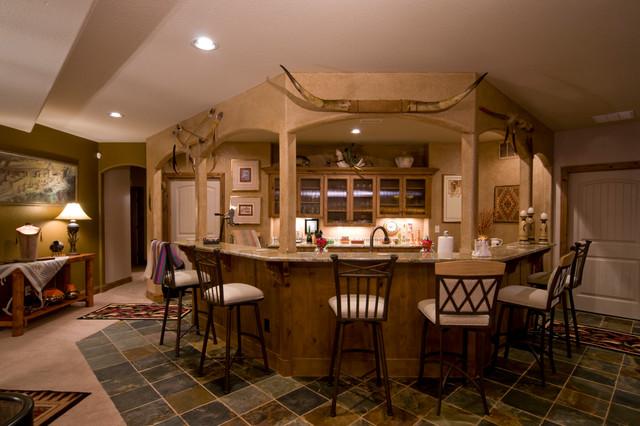 Custom Home 2008 traditional-basement