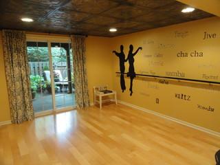 Dance Studio Traditional Basement Philadelphia By