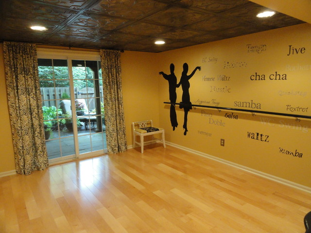 Dance Studio Traditional Basement Philadelphia By