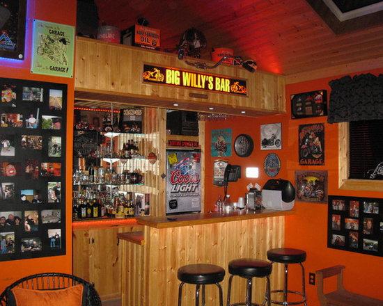 Darrell's Harley Man Cave
