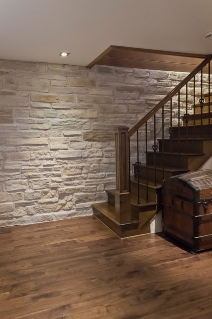 Decorative Wall Products Rustic Basement Montreal By Rinox Inc