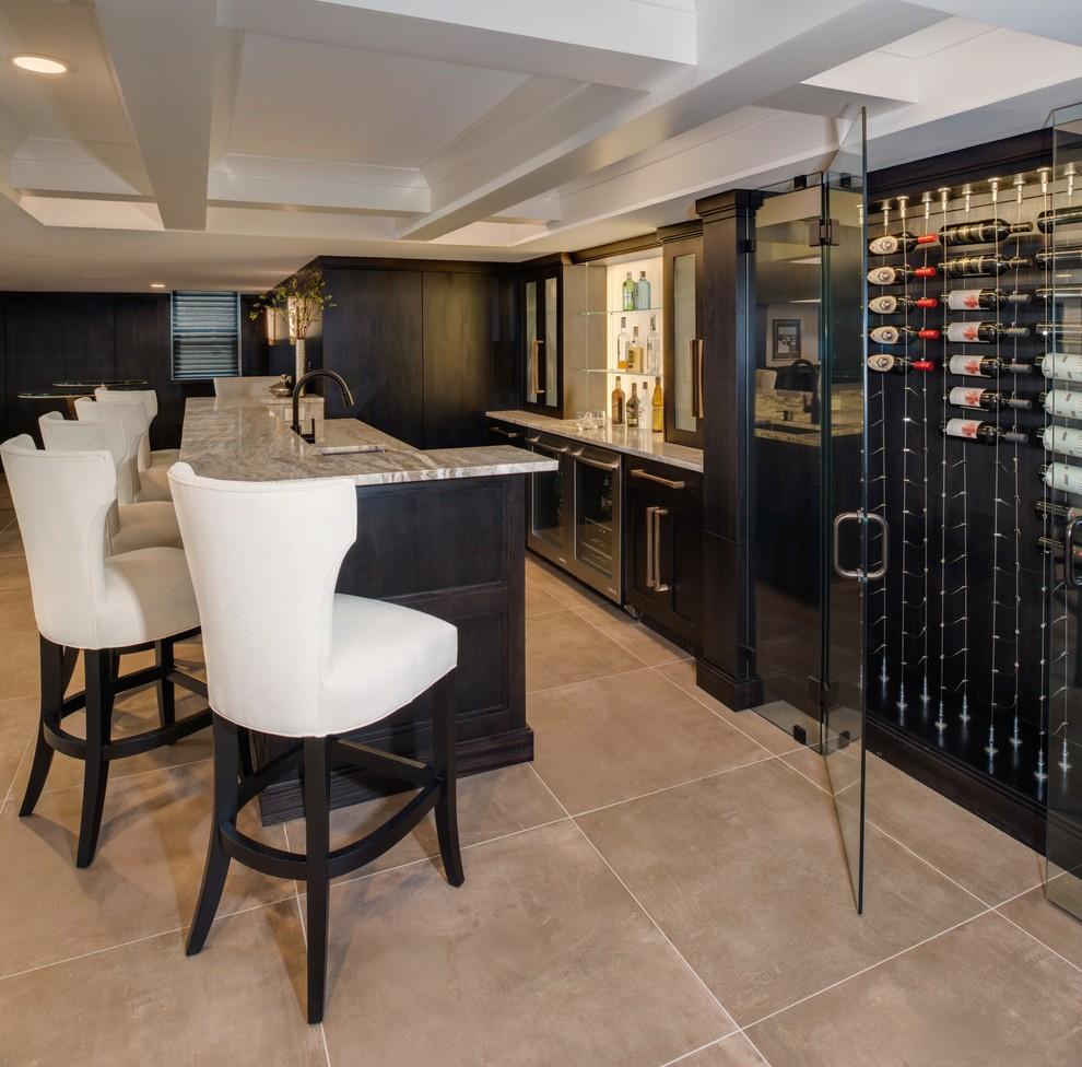 Contemporary Basement Design: Lower Level Design & Build