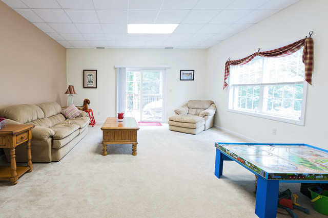 Deme Wallingford Ct Contemporary Basement New York By Romy Lee Photography