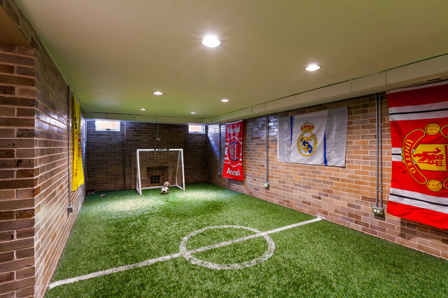 Mansion with indoor soccer field  Indoor Soccer | Houzz