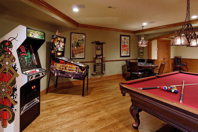 Design Build Renovation in Potomac, MD traditional basement