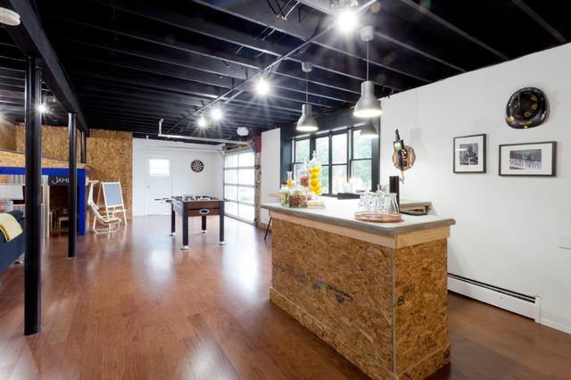 dillon industrial basement new york by brunelleschi