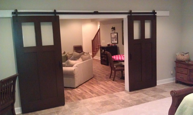 Doors Traditional Basement Atlanta By Artisans Of