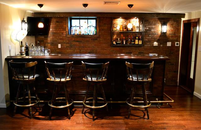 Drake Avenue traditional-basement