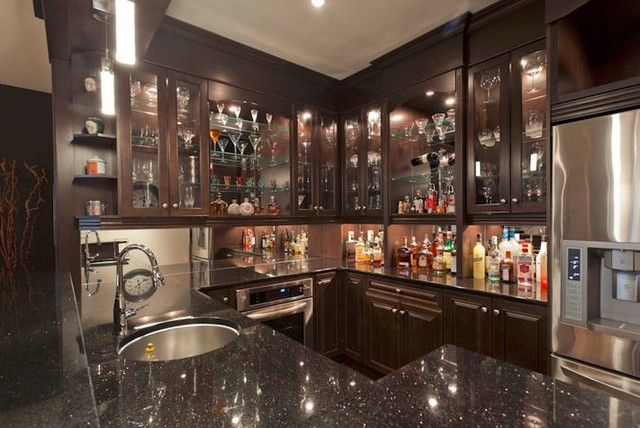 Dream Basement Bar Traditional Basement Ottawa By Westend Bath And Kitchen
