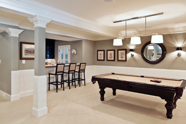 Dream House Studios, Inc. traditional basement