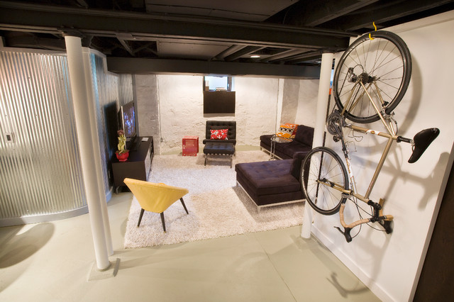 Ideas For Partially Finishing Your Basement, How To Finish A Basement On Small Budget
