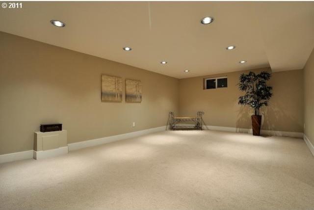 Eastmoreland bungalow remodel traditional basement for Bungalow basement renovation ideas