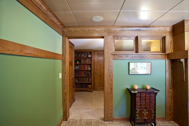 Edina Craftsman Basement Asian Basement Minneapolis