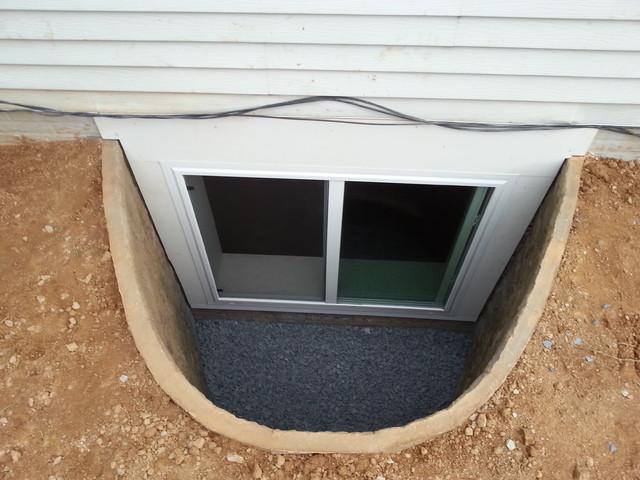 egress windows modern basement dc metro by jds home