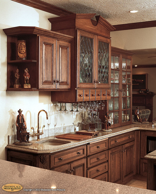 Elegant Warmth - Traditional - Basement - other metro - by Showplace Wood Products