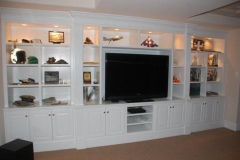 Entertainment Centers - Traditional - Basement - Orlando - by L & B Enterprises