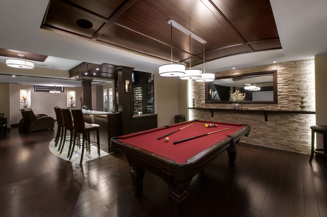Entertainment Tonight contemporary-basement