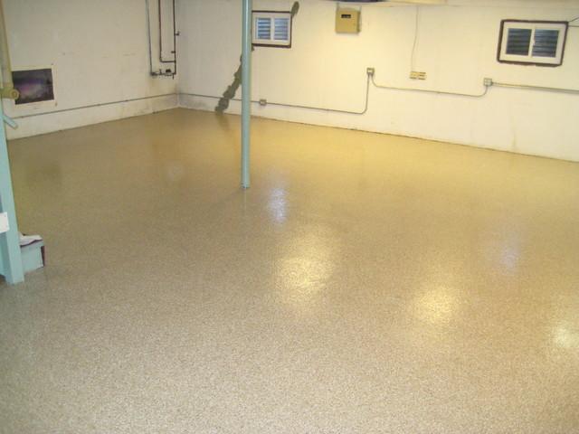 epoxy basement flooring basement