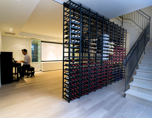 ETHAN CARMEL ARCHITECTS contemporary wine cellar