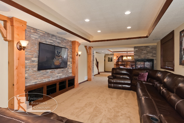 Evermoor Basement - traditional - basement - minneapolis - by
