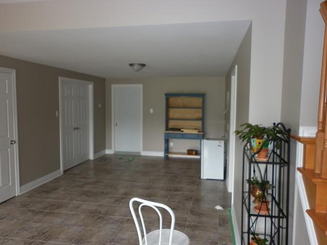 Finish basement Kanata traditional-basement