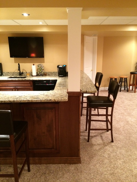 finished basement bar bath office exercise media pool rooms